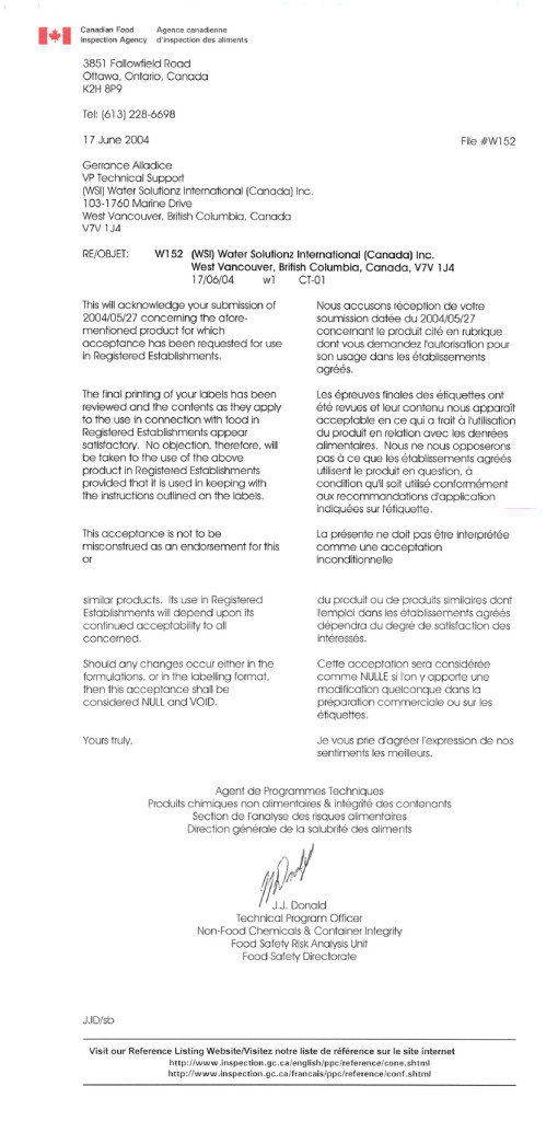 CFIA-letter